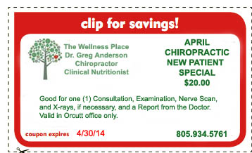 Coupon Orcutt 0414