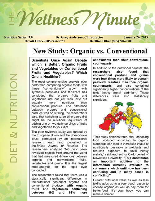 Nutrition3.0OrganicConventional